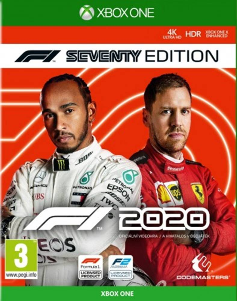 AT Computers XBOX hra - F1 2020 Seventy Edition